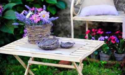 Giardini arredamento arredo provenzale giardino - Giardino provenzale ...